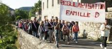 Barre-des-Cévennes : mobilisation contre l'expulsion de la famille D. !!!