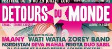 Festival Détours Du Monde 2018