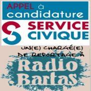 Radio BARTAS cherche un Service Civique
