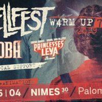 La tournée Warm Up Hellfest